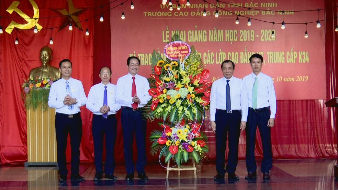 Trường Cao đẳng Công nghiệp Bắc Ninh khai giảng năm học 2019 – 2020