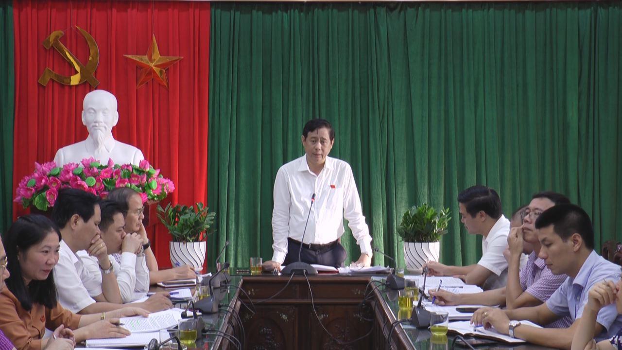 HĐND tỉnh giám sát việc thực hiện chính sách, pháp luật  về bảo vệ môi trường tại thị xã Từ Sơn