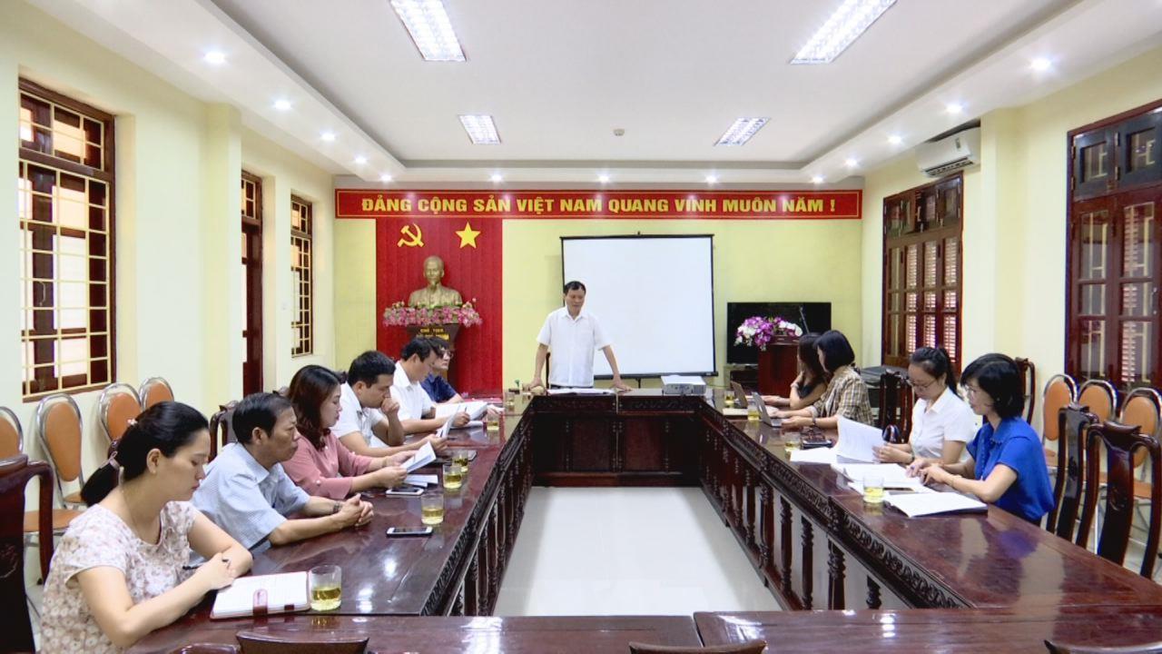 Hội nghị đóng góp ý kiến vào Kịch bản chương trình kỷ niệm 70 năm  Đội Thiếu niên du kích Đình Bảng