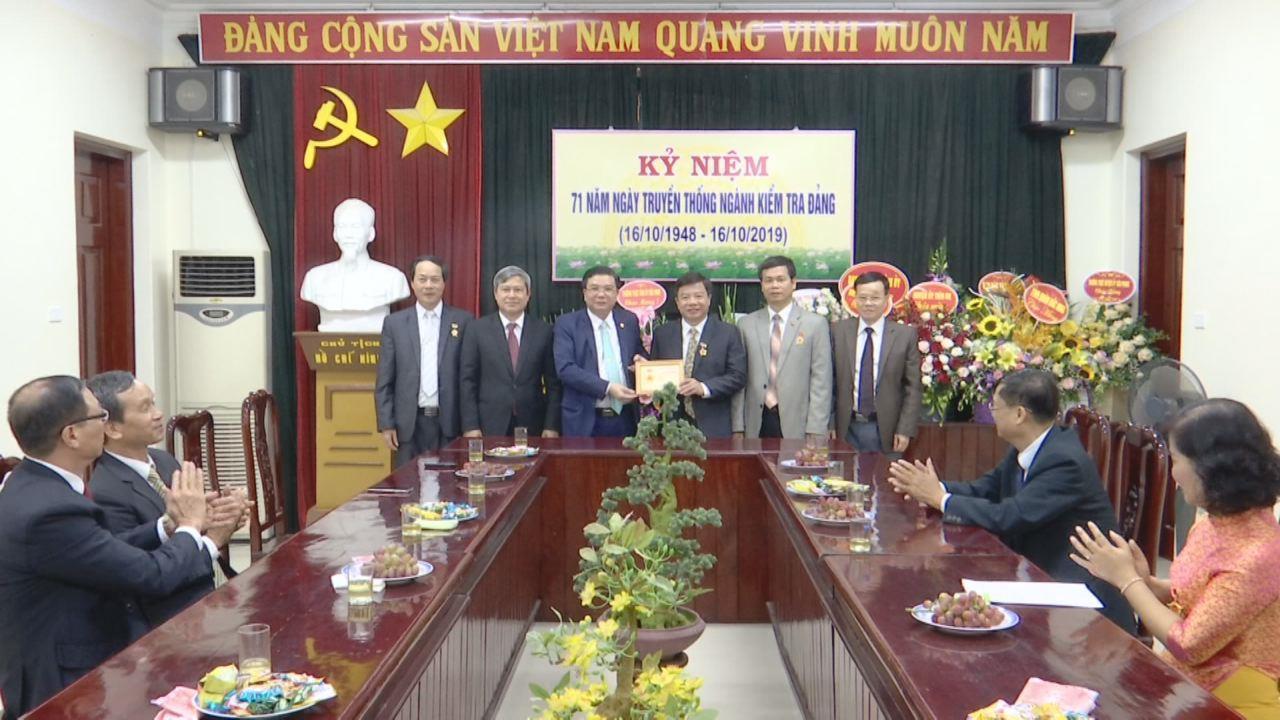 Ủy ban Kiểm tra Tỉnh ủy gặp mặt kỷ niệm 71 năm ngày thành lập ngành