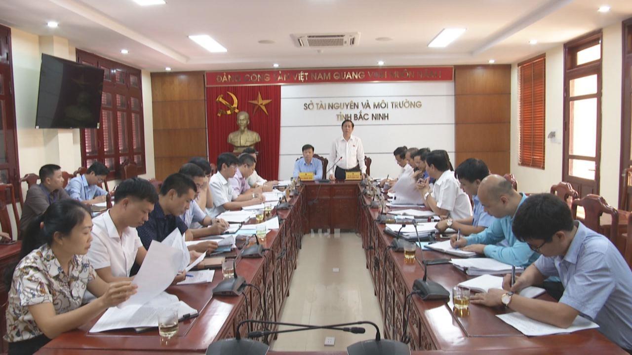 HĐND tỉnh giám sát tại Sở Tài nguyên và Môi trường