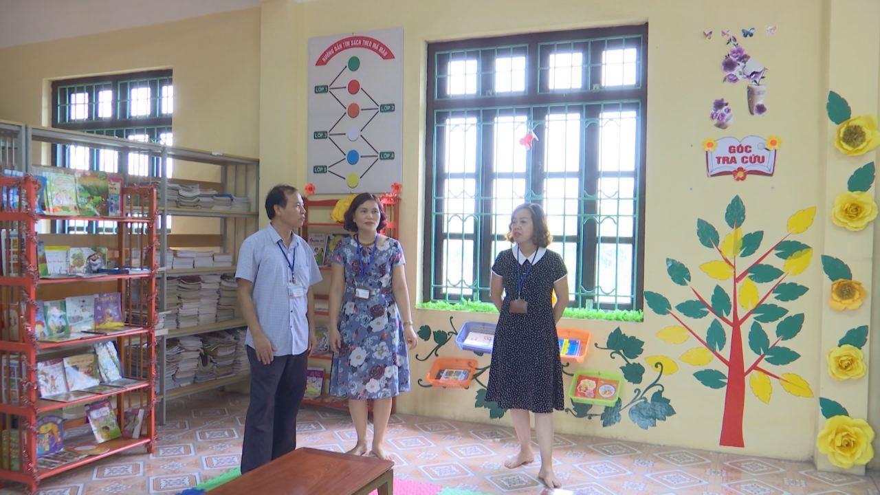 Xây dựng thư viện trường học trong tỉnh đồng bộ và hiện đại