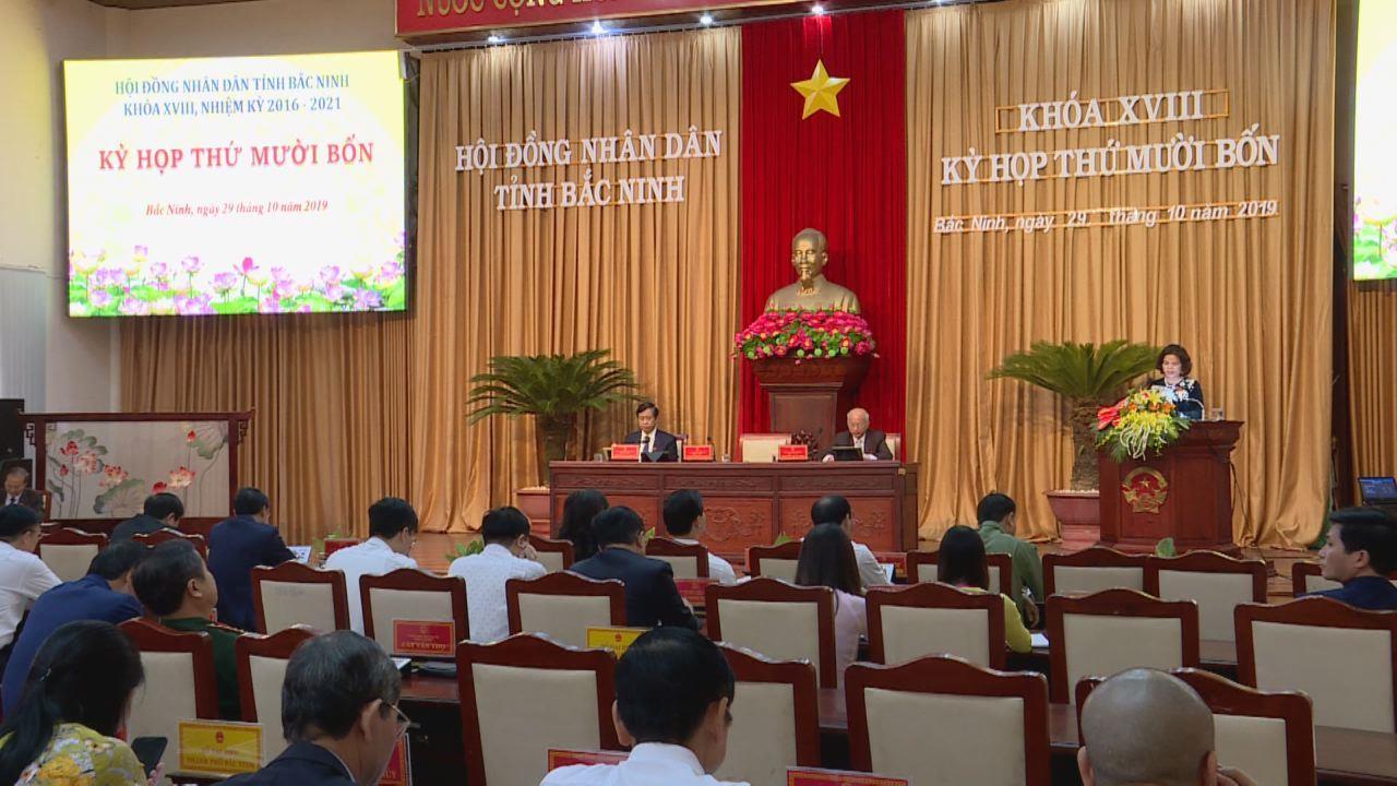 Khai mạc kỳ họp thứ 14, Hội đồng nhân dân tỉnh khóa 18