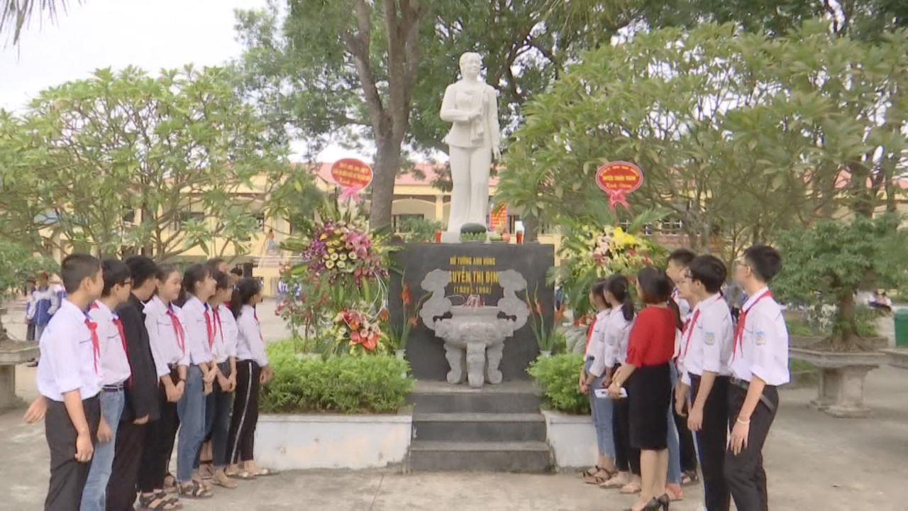 Trường THCS Nguyễn Thị Định sau 60 năm thành lập