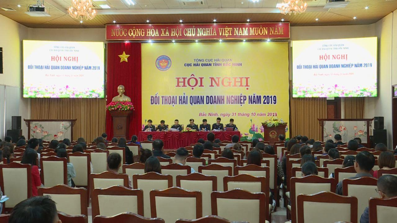 Cục Hải quan tỉnh Bắc Ninh đối thoại với hơn 200 doanh nghiệp