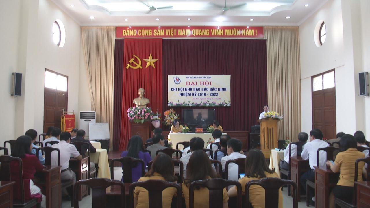 Đại hội Chi hội Nhà báo Báo Bắc Ninh lần thứ VII