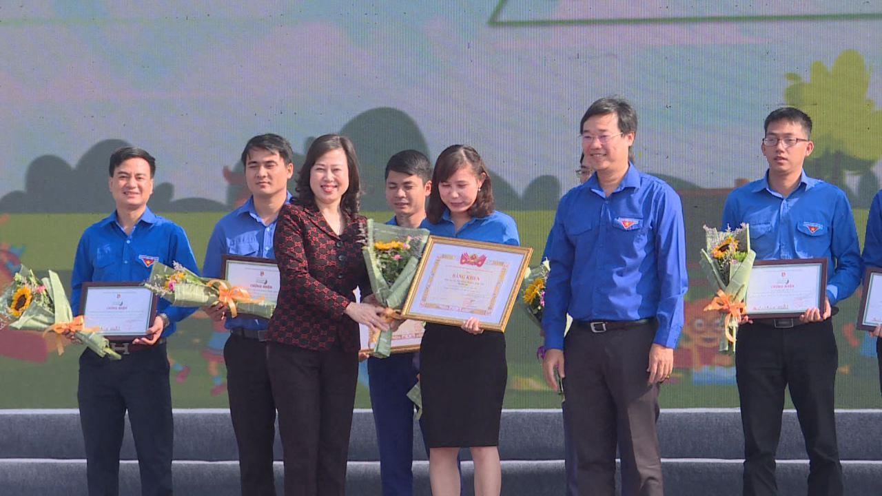 """Ngày hội """"Thanh niên hành động chống rác thải nhựa"""" tại Bắc Ninh"""