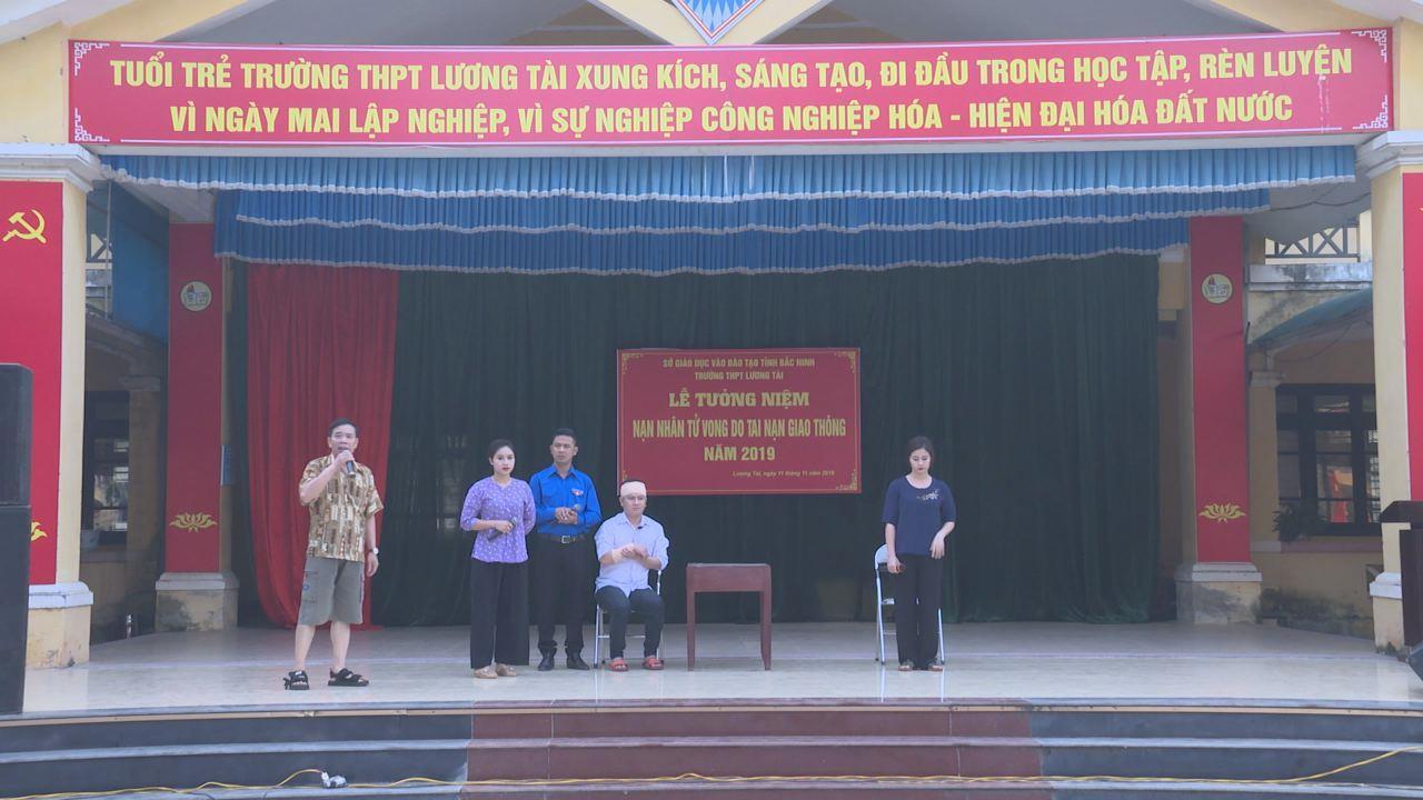 Ban ATGT tỉnh tuyên truyền hưởng ứng các hoạt động tưởng niệm nạn nhân tử vong do TNGT năm 2019