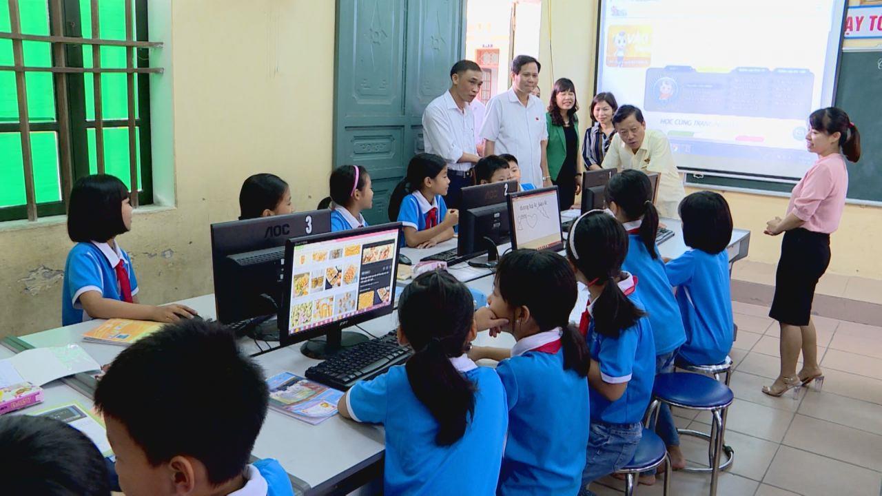 Giám sát thực hiện nhiệm vụ công tác giáo dục, đào tạo trong năm học mới
