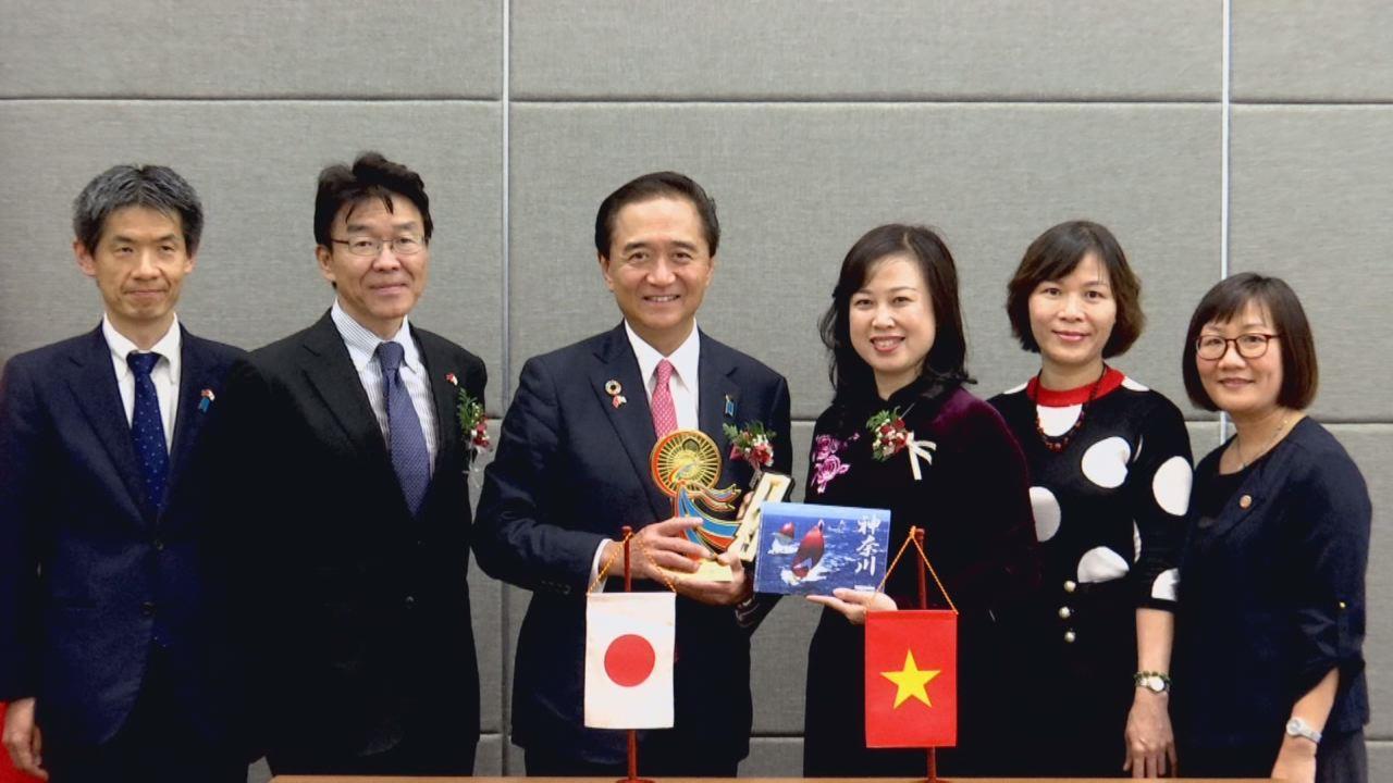 Phó Bí thư Tỉnh ủy Đào Hồng Lan dự Khai mạc Lễ hội Kanagawa Nhật Bản tại Hà Nội