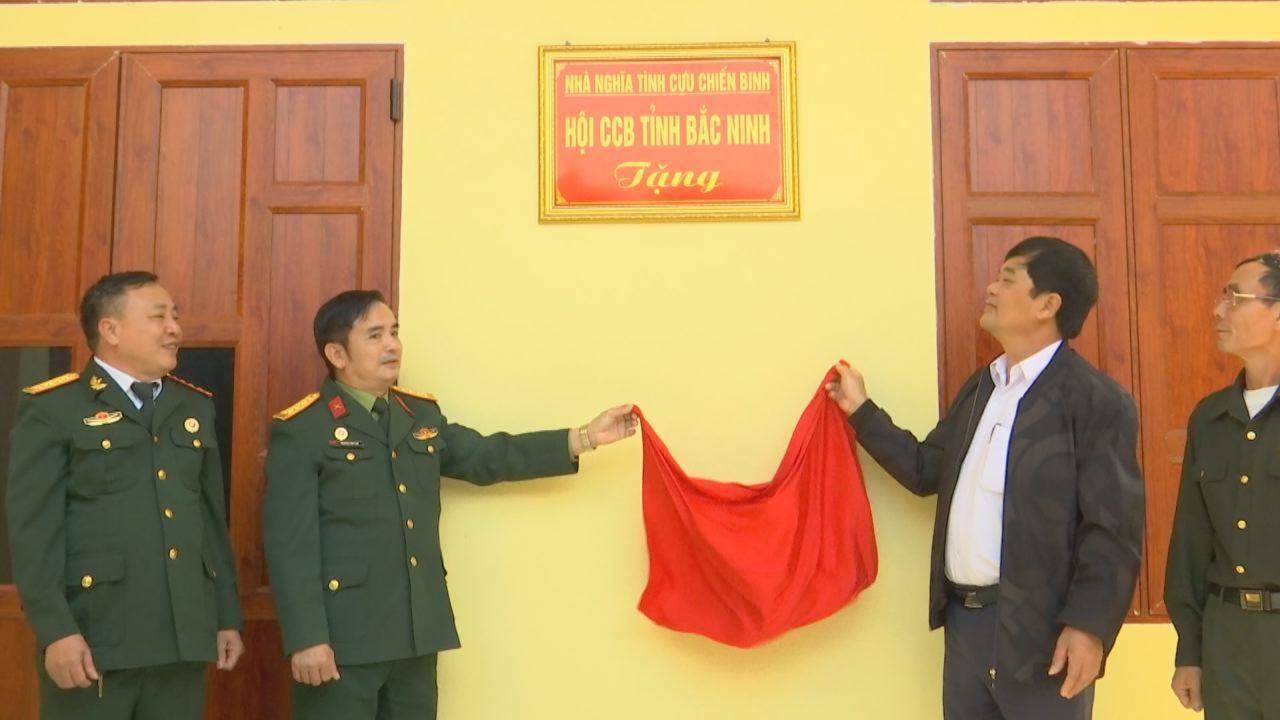 Hội Cựu chiến binh tỉnh bàn giao nhà Nghĩa tình đồng đội tại Lương Tài