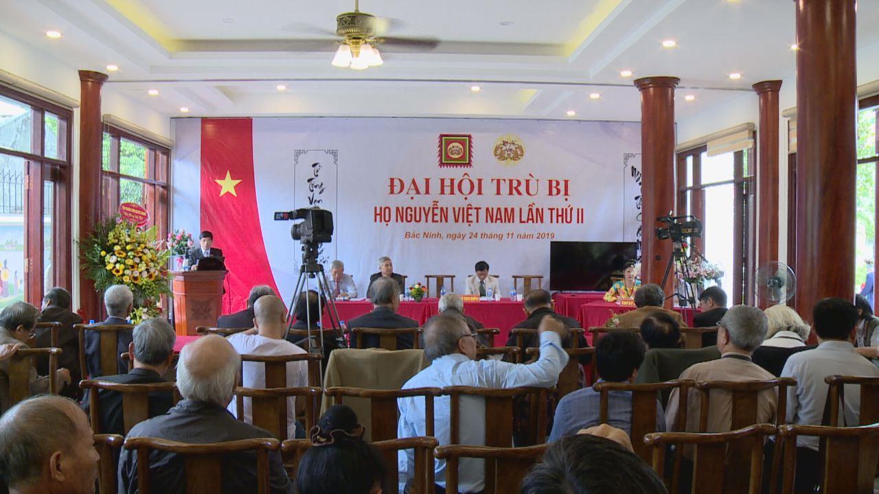 Đại hội trù bị đại biểu toàn quốc người họ Nguyễn Việt Nam lần thứ II/2019