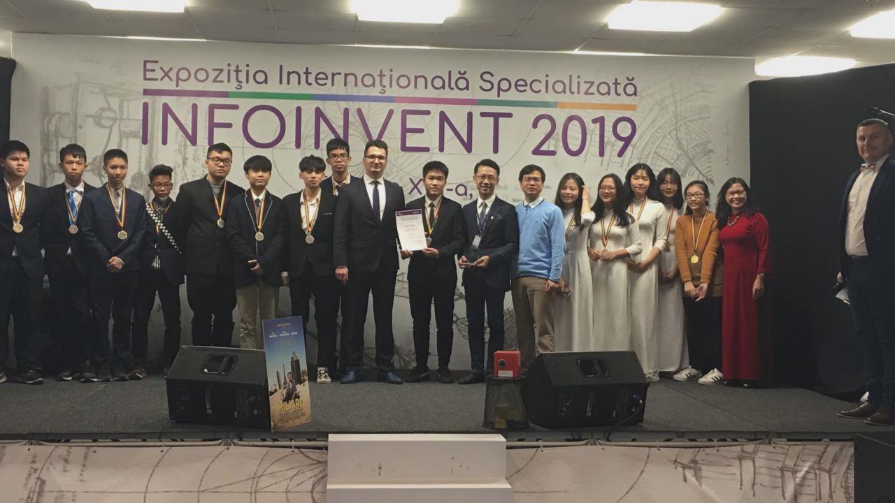 """Học sinh Bắc Ninh giành Huy chương Vàng tại cuộc thi  """"Khoa học kỹ thuật về phát minh, sáng chế thế giới lần thứ 17"""""""