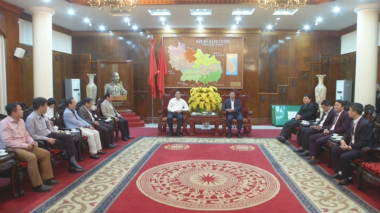 Báo Điện tử Đảng Cộng sản Việt Nam thăm và làm việc tại Bắc Ninh
