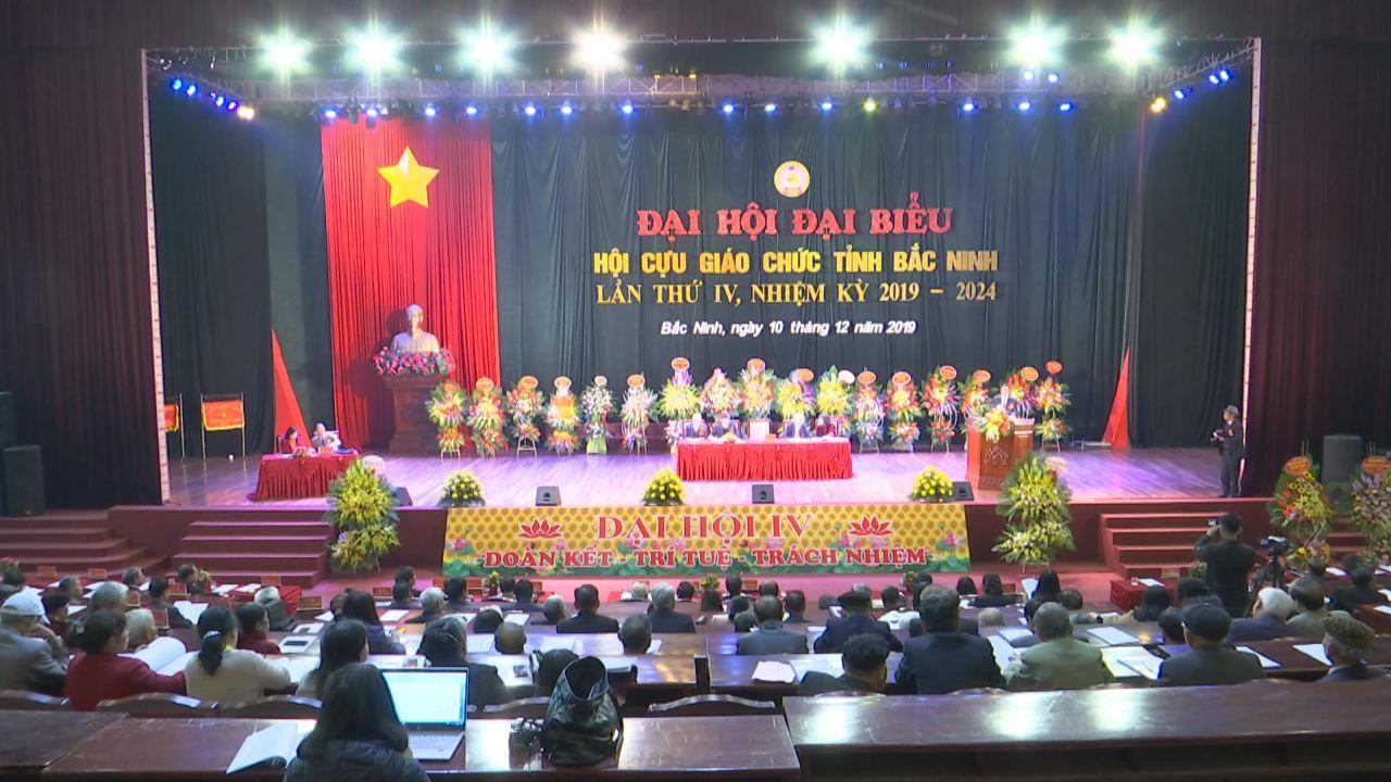 Đại hội Hội Cựu giáo chức tỉnh Bắc Ninh lần thứ 4, nhiệm kỳ 2019-2024