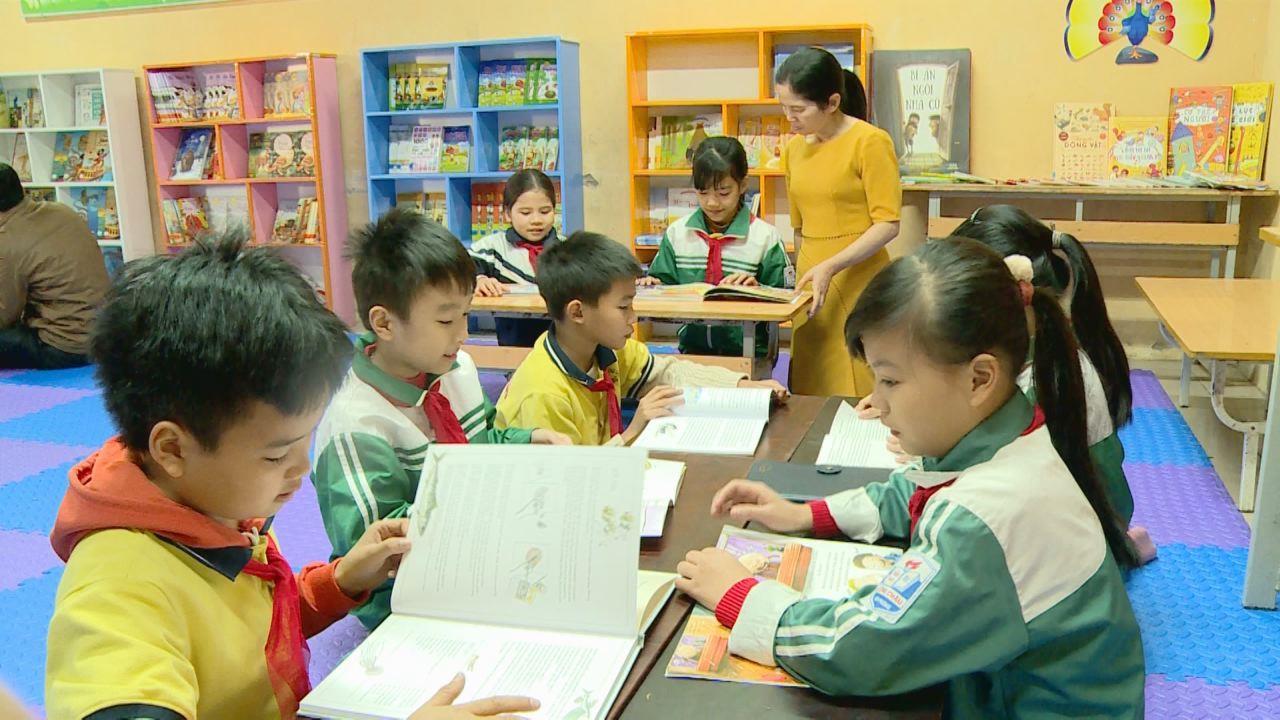 Bắc Ninh: Đưa tiết học thư viện vào trường học