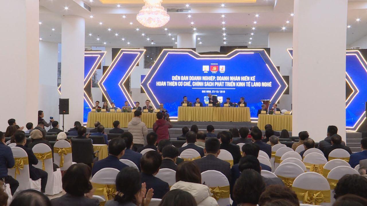 Diễn đàn hoàn thiện cơ chế chính sách phát triển cơ chế làng nghề
