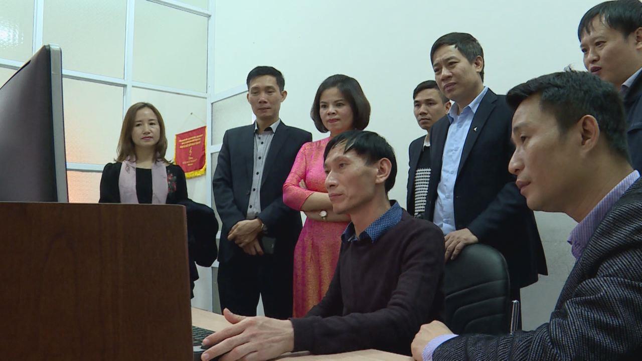 Phó Bí thư Tỉnh ủy, Chủ tịch UBND tỉnh thăm Đài Phát thanh & Truyền hình Bắc Ninh