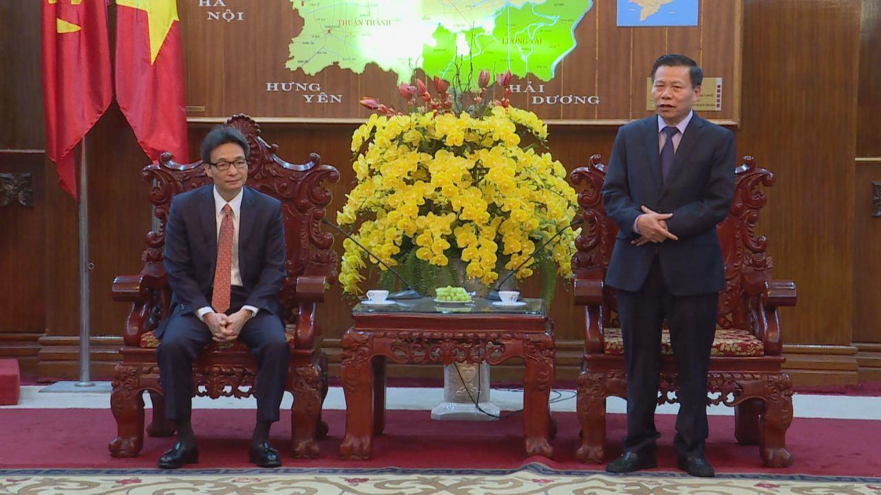 Phó Thủ tướng Chính phủ Vũ Đức Đam thăm, làm việc tại Bắc Ninh