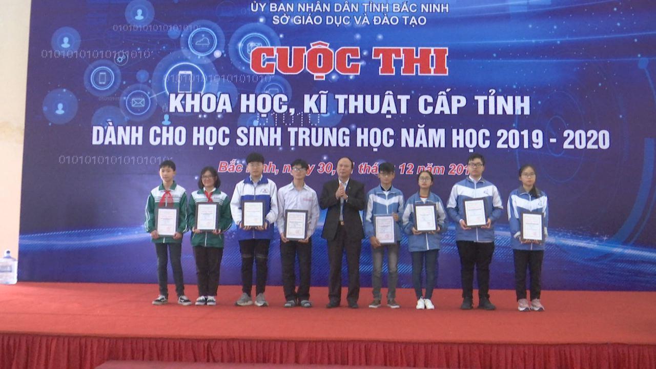 Bế mạc Cuộc thi Khoa học kỹ thuật dành cho học sinh phổ thông 2019