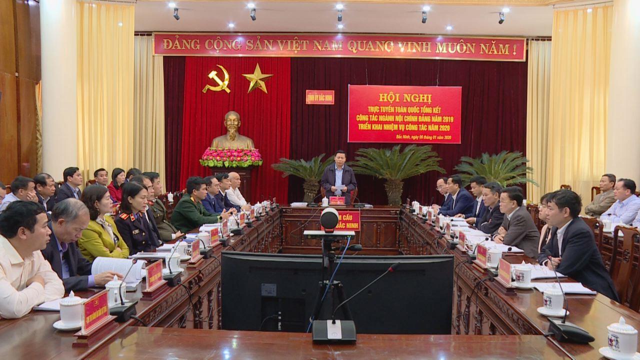 Ban Nội chính Trung ương tổ chức Hội nghị trực tuyến  Triển khai công tác nội chính năm 2020