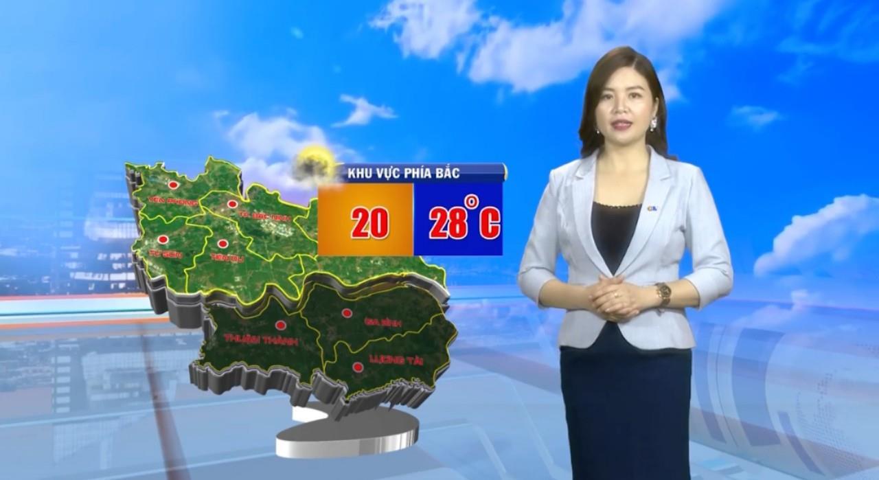 Bản tin dự báo thời tiết đêm 08 ngày 09/01/2020