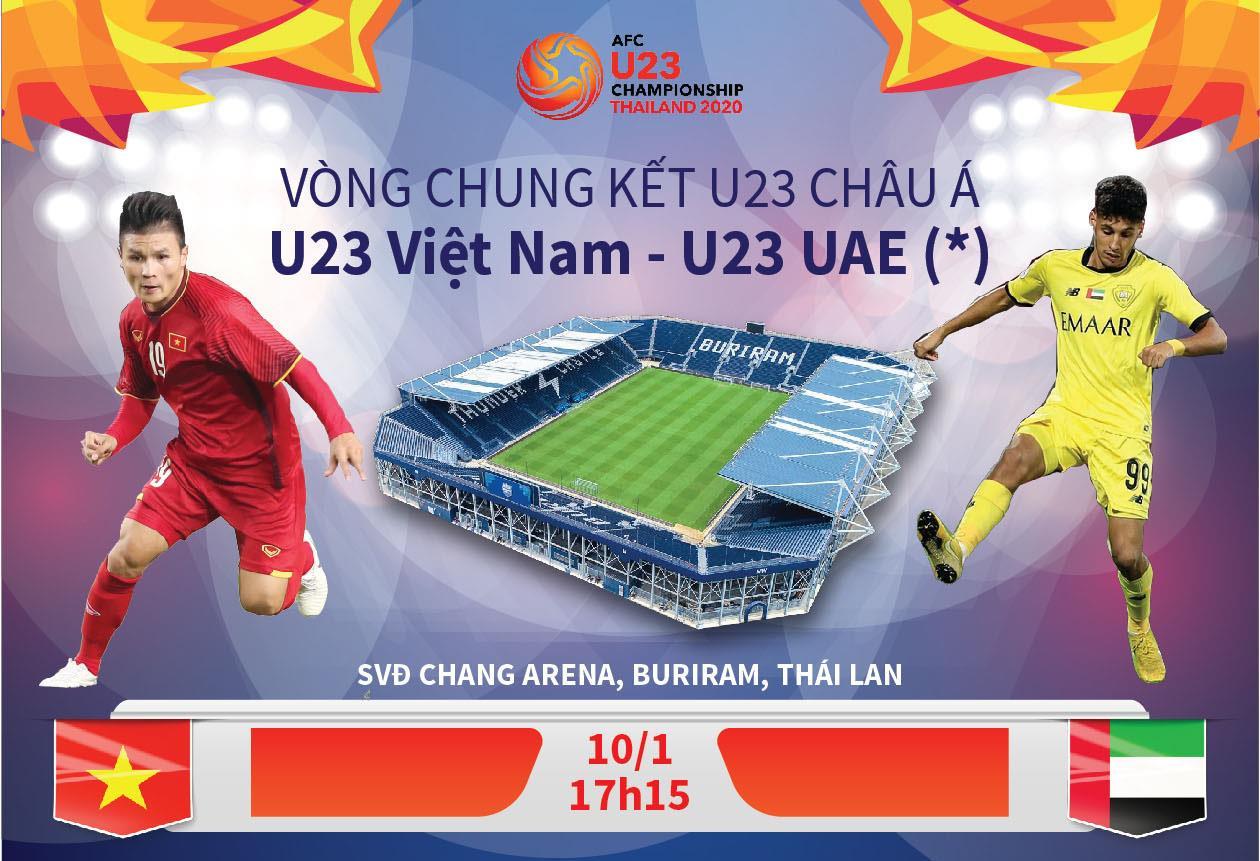 [ Infographics] Một chiến thắng trận ra quân tạo lợi thế nhất định cho U23 Việt Nam