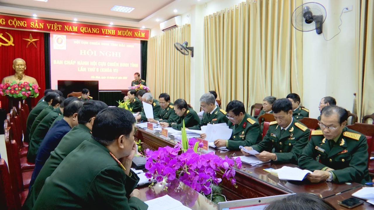 Hội Cựu chiến binh tỉnh triển khai nhiệm vụ năm 2020