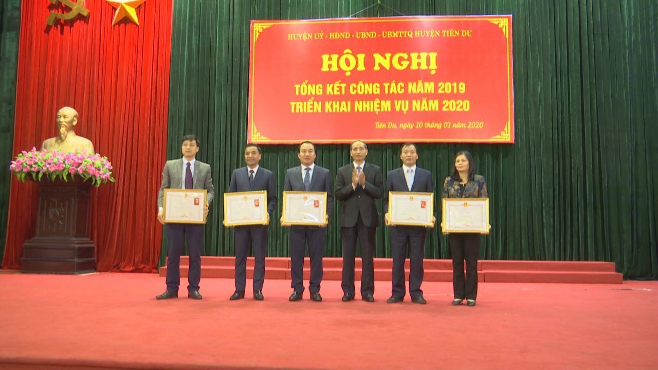 Huyện Tiên Du triển khai nhiệm vụ công tác năm 2020