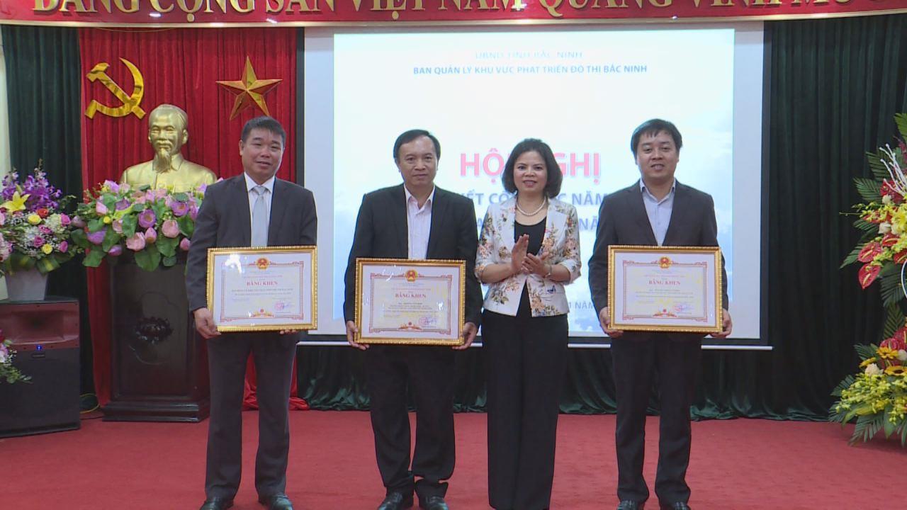 Ban Quản lý khu vực phát triển đô thị Bắc Ninh triển khai nhiệm vụ năm 2020