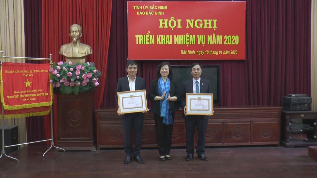 Báo Bắc Ninh triển khai nhiệm vụ năm 2020