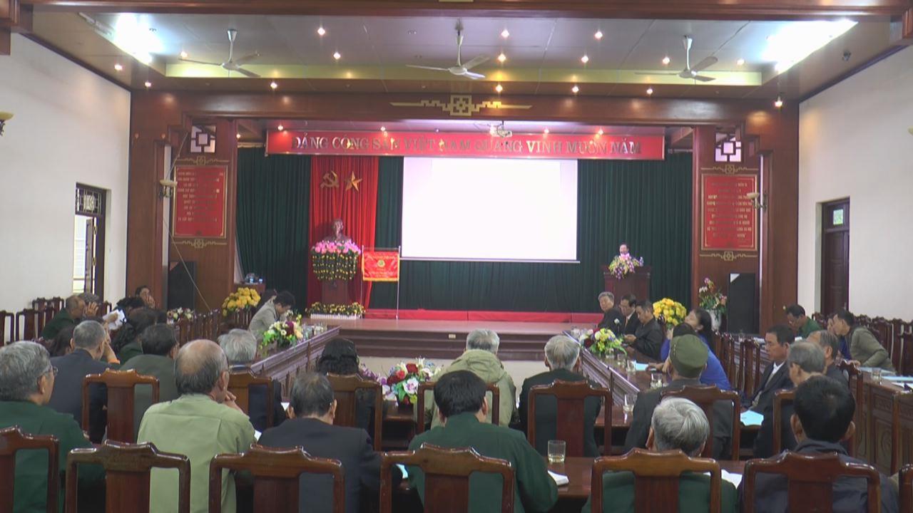 Hội Cựu Thanh niên xung phong tỉnh triển khai nhiệm vụ năm 2020