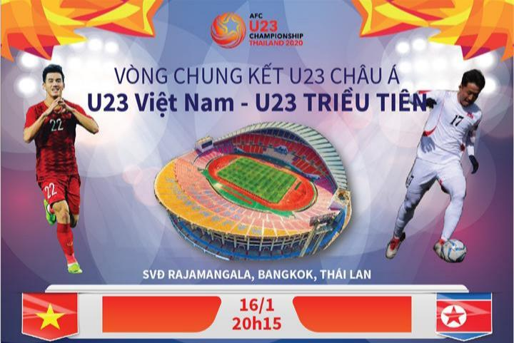 [Infographics] Một chiến thắng để đảm bảo vào vòng tứ kết cho U23 Việt Nam