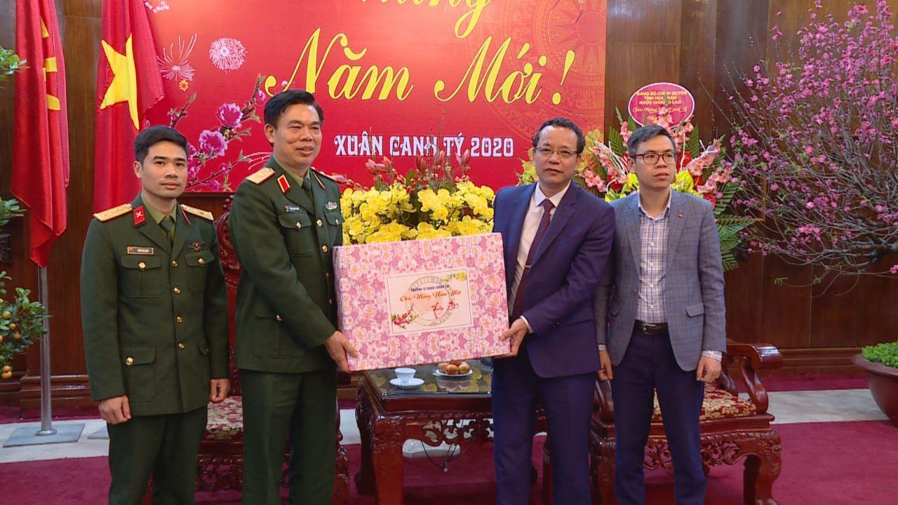 Trường Đại học Chính trị chúc Tết tỉnh Bắc Ninh