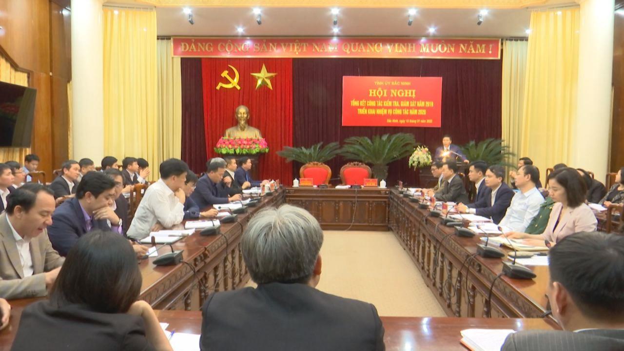 Ủy Ban kiểm tra Tỉnh ủy triển khai nhiệm vụ năm 2020