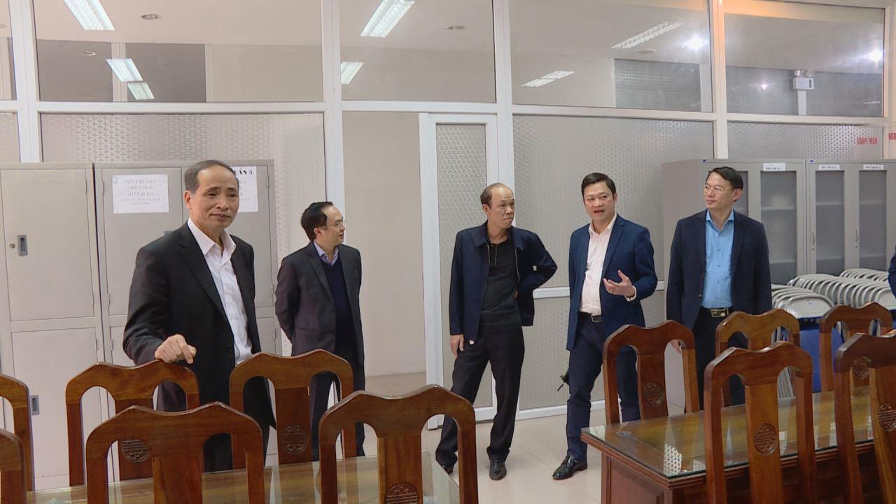 Lãnh đạo tỉnh kiểm tra công tác chuẩn bị kì thi công chức tỉnh năm 2019