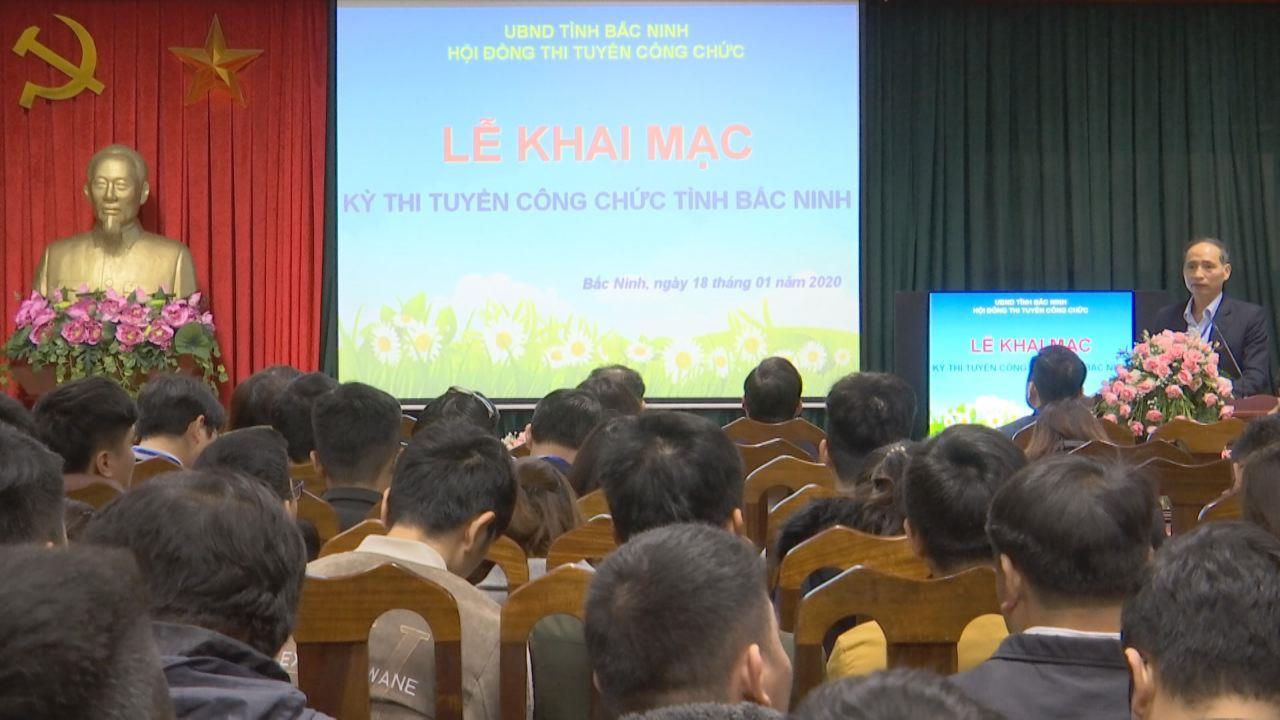 Khai mạc kỳ thi tuyển công chức tỉnh Bắc Ninh năm 2019