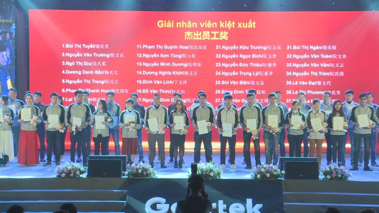 Công ty TNHH Goertek Vina tri ân người lao động nhân dịp Tết Canh Tý