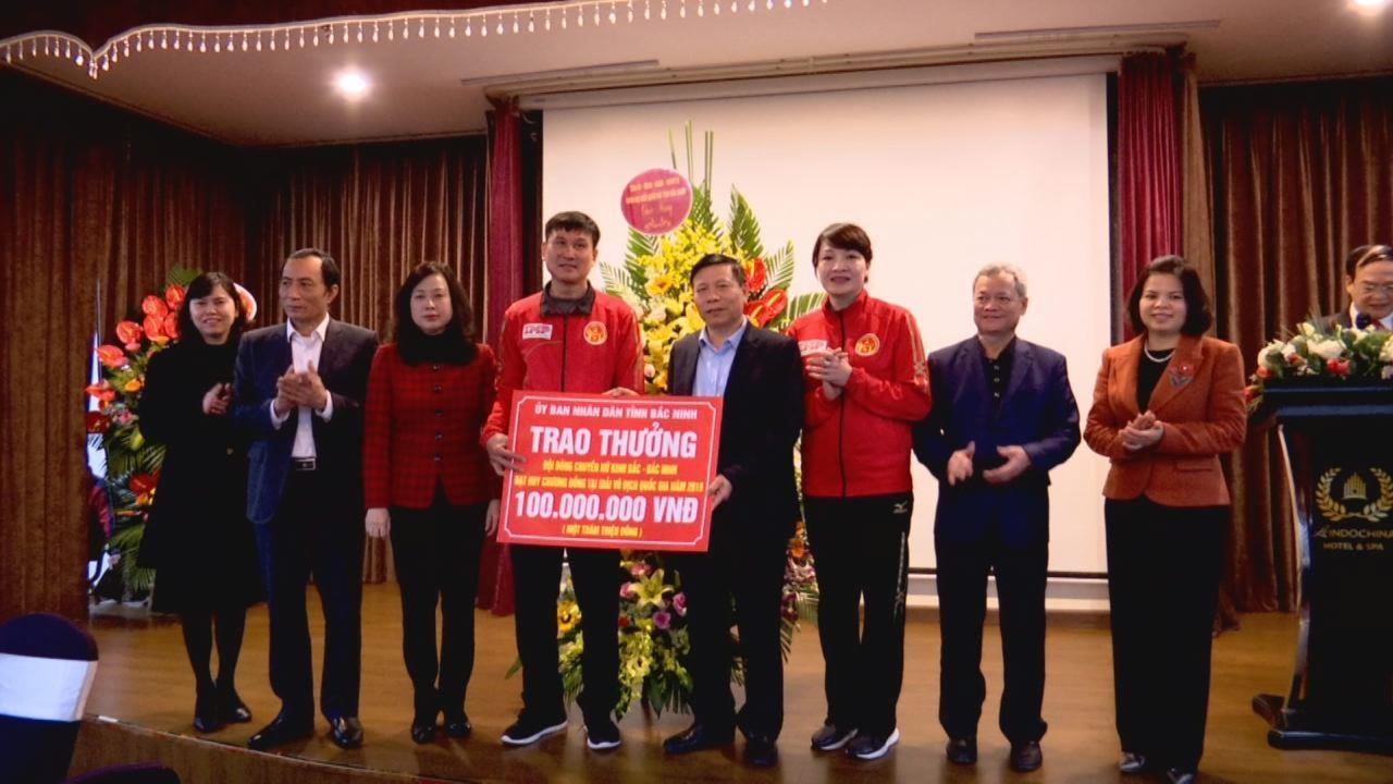 Gặp mặt biểu dương Đội bóng chuyền nữ Kinh Bắc – Bắc Ninh