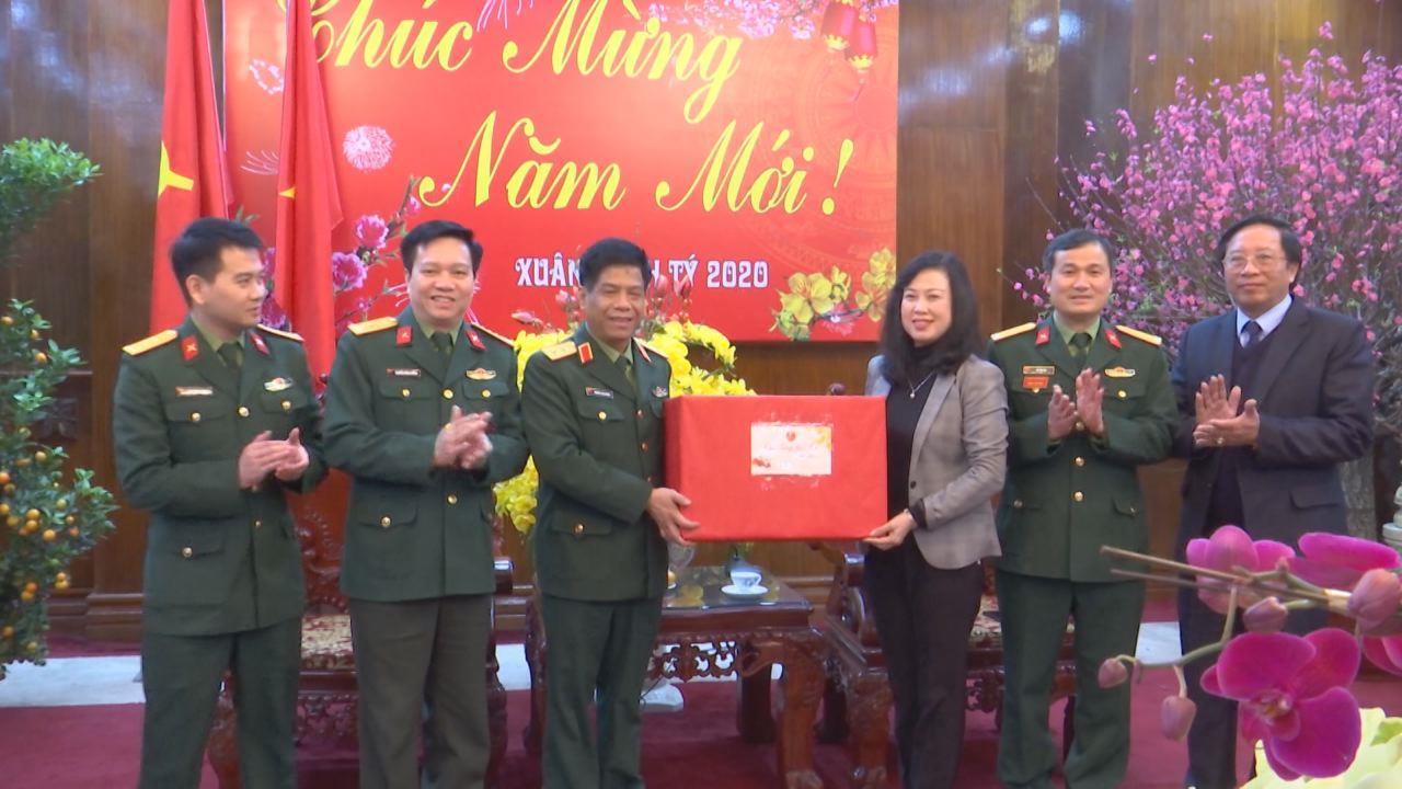 Phó Tổng Tham mưu trưởng, Bộ Quốc phòng chúc Tết tỉnh Bắc Ninh