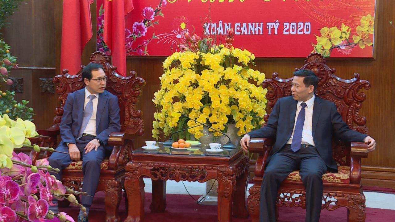 Tổng Giám đốc Tổ hợp Samsung Việt Nam chúc Tết tỉnh Bắc Ninh