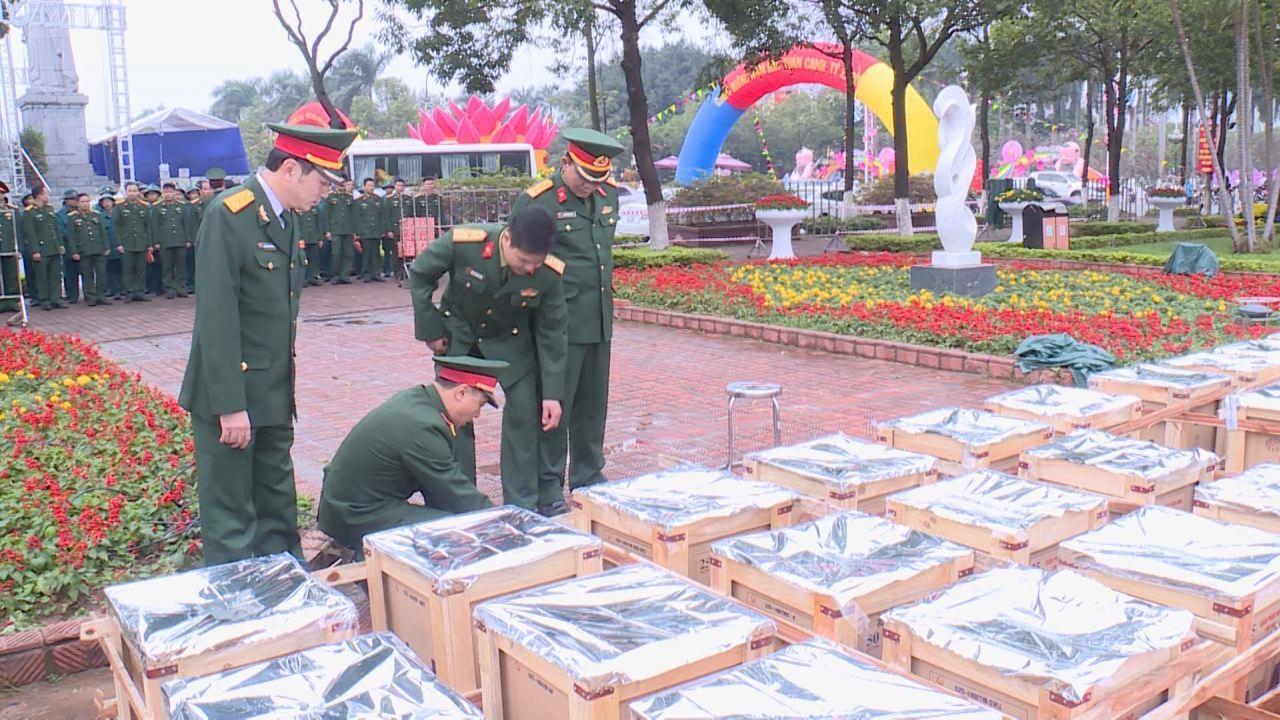 Bộ Chỉ huy Quân sự tỉnh kiểm tra công tác chuẩn bị bắn pháo hoa đêm giao thừa