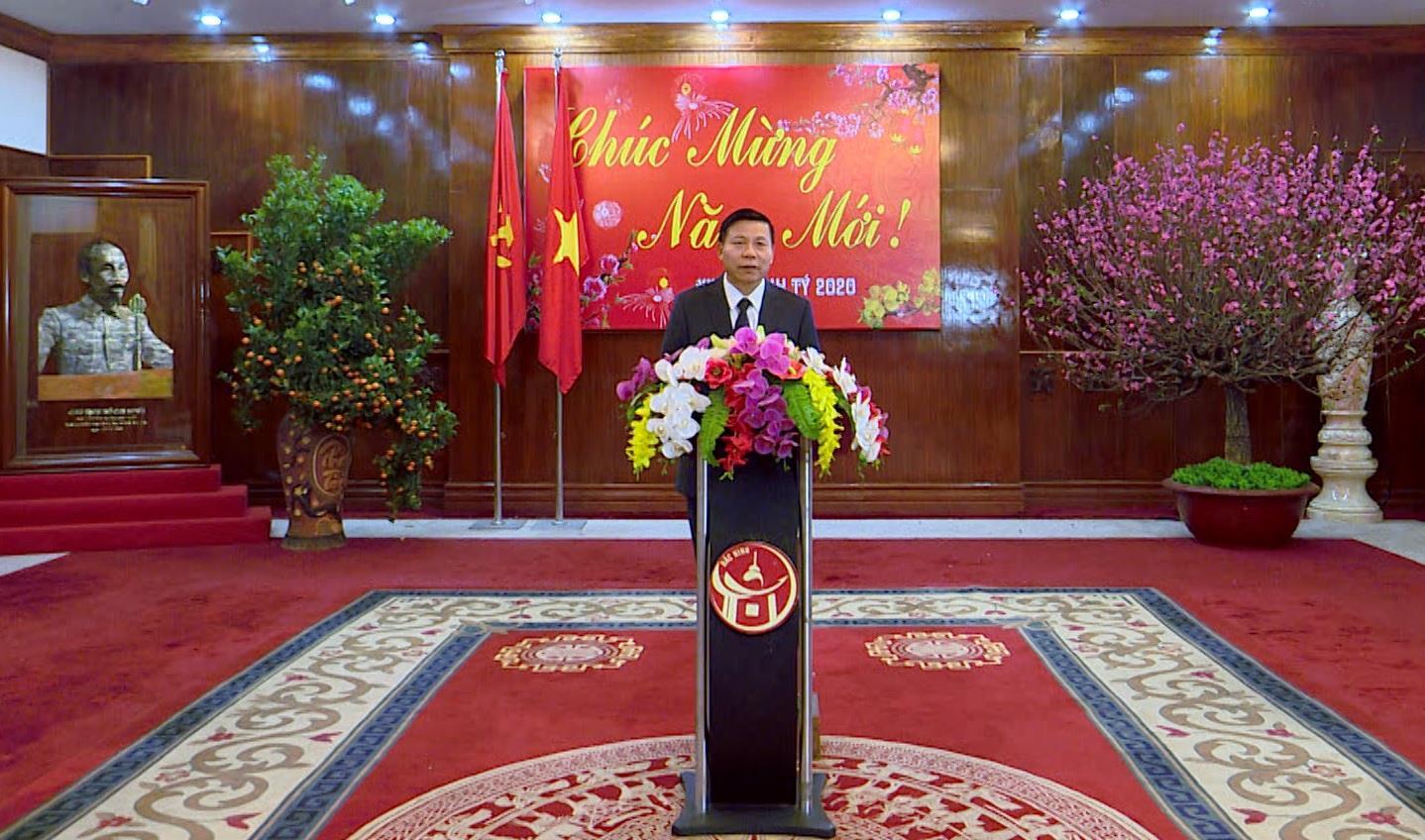 Bài phát biểu chúc mừng năm mới - Xuân Canh Tý 2020 của đồng chí Bí thư Tỉnh ủy Nguyễn Nhân Chiến