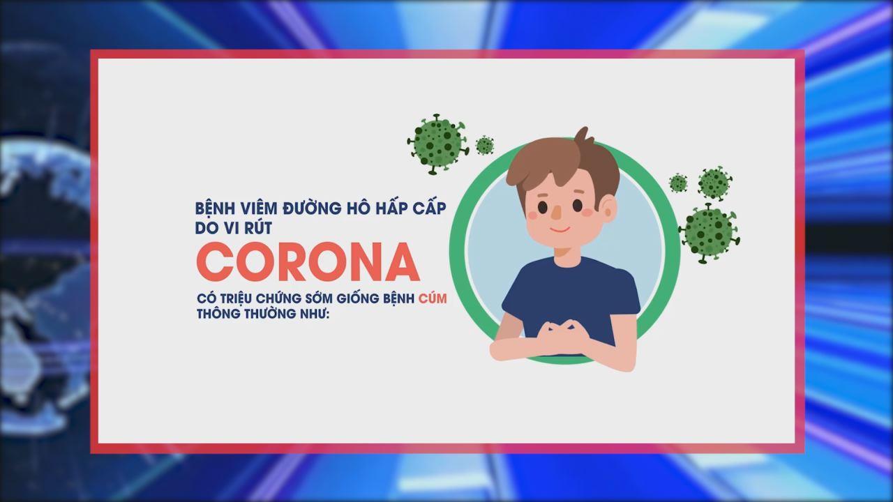 Phòng dịch viêm đường hô hấp cấp do virut  CORONA