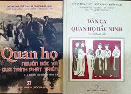 Hoàn thành tái bản hai cuốn sách quý về Dân ca Quan họ Bắc Ninh