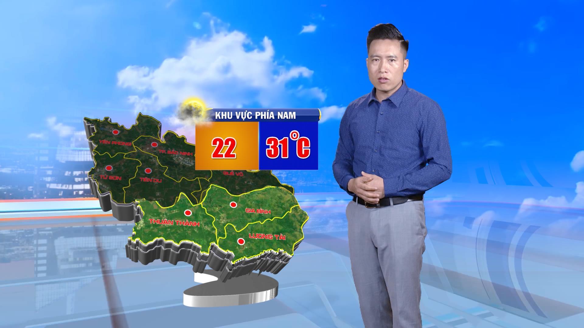 Thời tiết ngày 08-03-2020