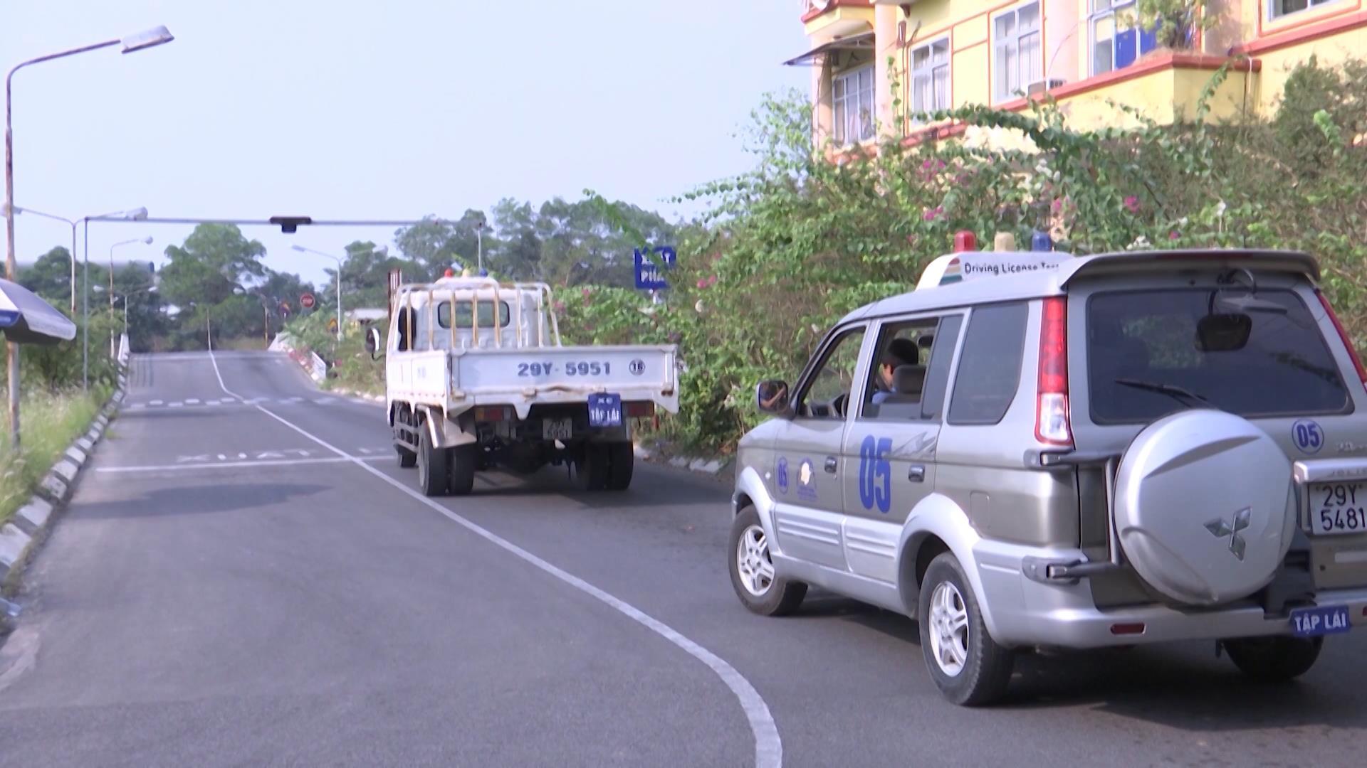 Tạm dừng các kỳ sát hạch lái xe ô tô và mô tô trên địa bàn tỉnh Bắc Ninh
