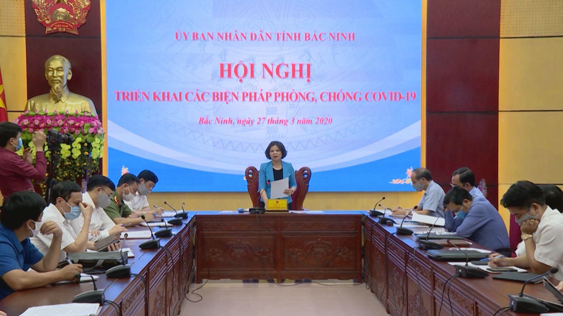 Bắc Ninh: Tập trung nguồn lực cho công tác phòng chống dịch