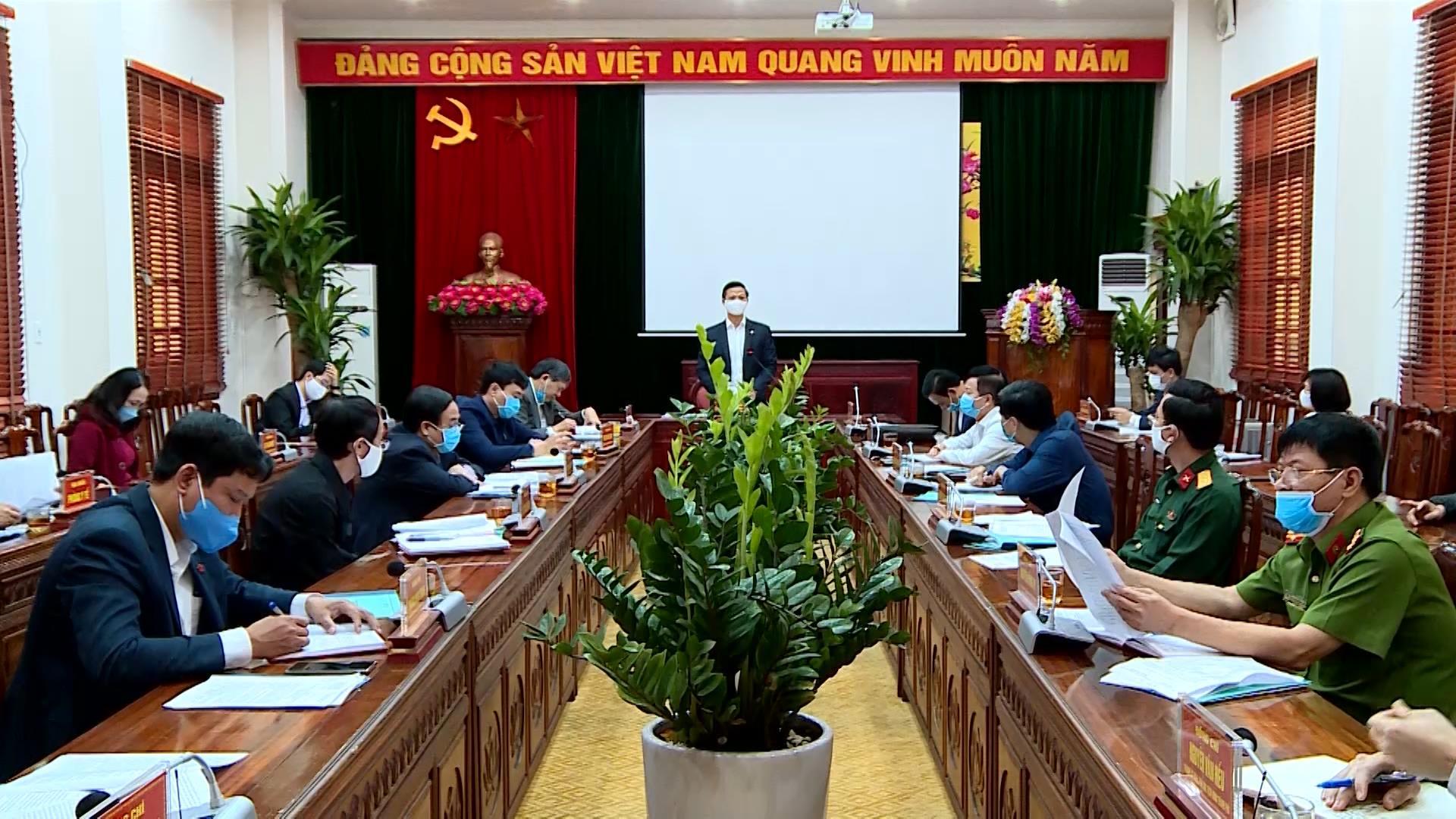 Thành ủy Bắc Ninh triển khai nhiệm vụ cấp bách phòng chống dịch Covid 19