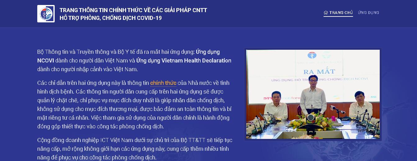 Đồng lòng chống dịch: Khai báo y tế tự nguyện qua ứng dụng NCOVI